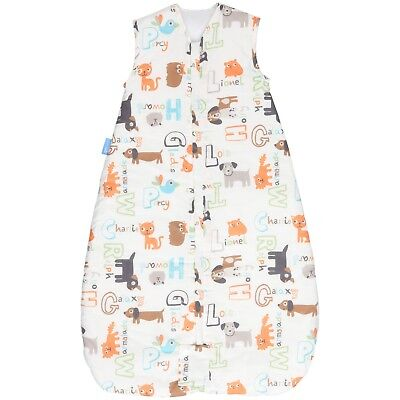 Grobag Baby Sleeping bags  6 - 18 months  2.5 tog simply  Alphapets - front zip