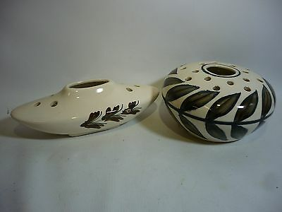 A Pair of 1960s Jersey Pottery Posy Bowls
