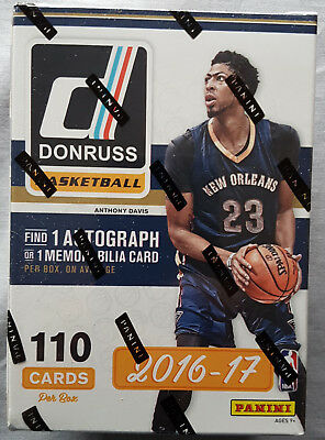Donruss Basketball NBA Blaster Box 2016-17 1 Hit per Box!!
