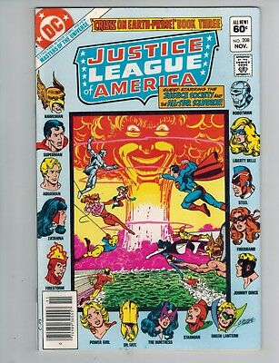 Justice League of America 207, 208, 209  Crisis on Earth Prime!  Lot of 3 1982