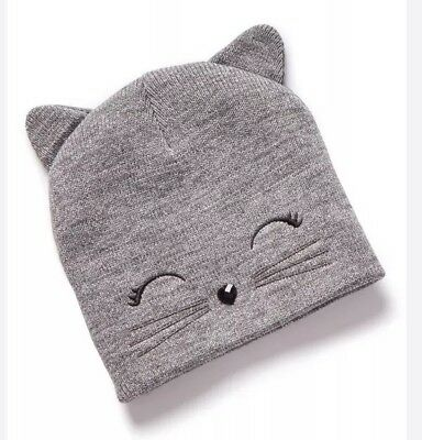 Justice Girls Kitty Cat Beanie🙀🙀🙀stocking stuffer!