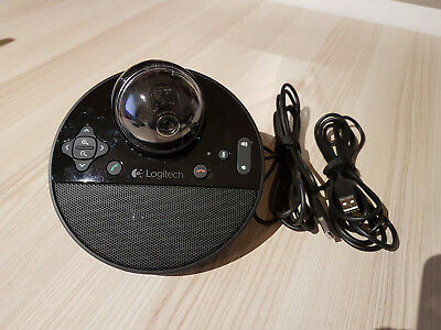 Original Logitech ConferenceCam BCC950 Webcam Full HD mobil Skype Konferenz