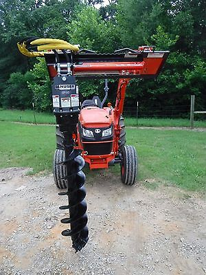 """Kubota Tractor Attachment - Danuser EP 10 Hex Auger with 12"""" Bit - Ship $199"""