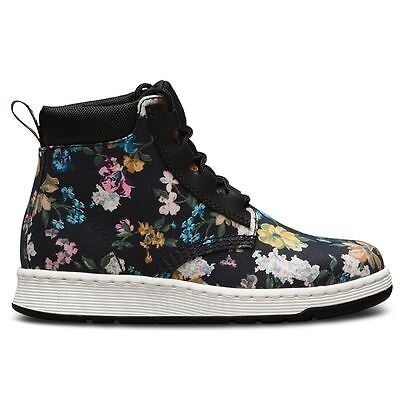 Dr.Martens Telkes Darcy Floral Black Womens Boots Floral Print