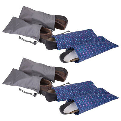 Travelon Pairs of 2 Shoe Covers w/ Drawstring Closure - 4 Pack