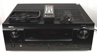 denon avr 591 3d receiver 5 1 channel av surround bundle excellent rh picclick com denon avr 591 owner's manual Denon AVR -590 Manual