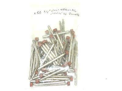 """Lot Of 50 New 3/8"""" Head Cylindrical Mounted Point Abraisives"""