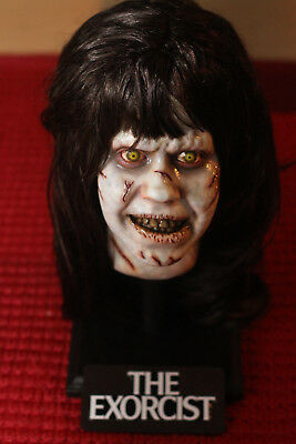 Exorcist Regan 1:1 Bust - Resin - Creepy Scary Spooky Horror Bust with Stand!