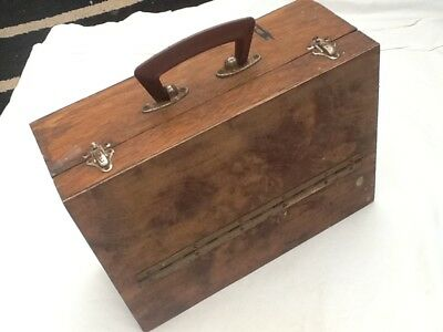 Vintage tool or collectors box case