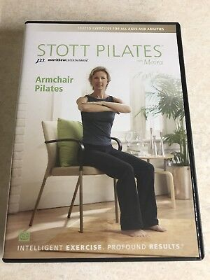Stott Pilates DVD Armchair Pilates - seated exercises for all ages and abilities