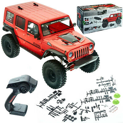 Axial AX90060 1/10 SCX10 II '17 Jeep Wrangler Unlimited CRC 4WD RTR w/ Radio