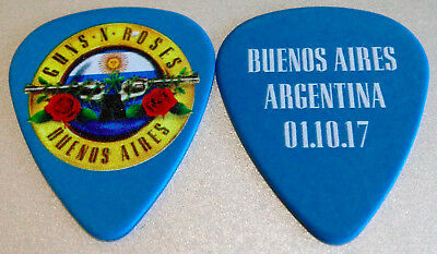 Guns n' Roses Not in This LifeTime Buenos Aires  Guitar Pick Very Rare