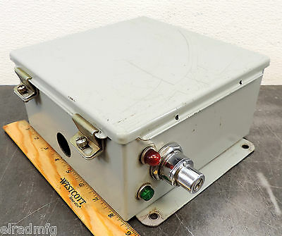 "Hoffman A-808CH Electrical Enclosure 8""X8""X4"" Electric Control Box"