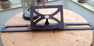 vintage wood book rest / stand by Benshaw