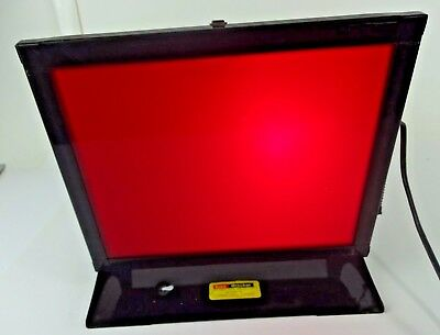 VTG Kodak Utility Safelight Lamp Model C Darkroom Safe Light - TESTED WORKING #2