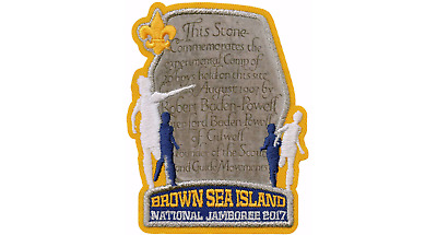 Boy Scout Official Brownsea Island 2017 National Jamboree Display Patch Emblem