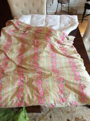 Pottery Barn Kids Island Hibiscus Crib Or Toddler Bed Duvet And Comforter Set