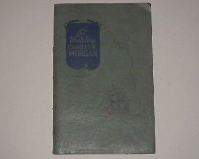 Antique Book Whale Ship Charles W Morgan 1926 New Bedford Ma. Whaling Scarce