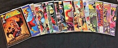 Lot of 79 Malibu Comics Collection VF-M w/ Bags & boards & Free Shipping!