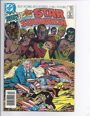 Canadian Newsstand Edition $0.95 Price Variant All-Star Squadron #32