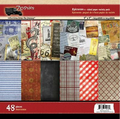 7 Gypsies Epicurean Collection 8 x 8 Paper Pack 19449