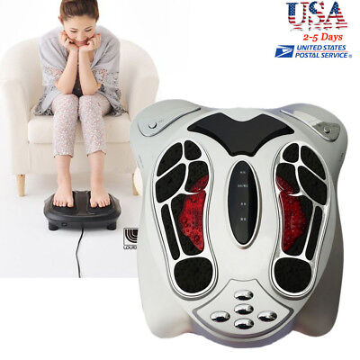 Electromagnetic Wave Pulse Circulation Foot Massager Booster comfortable machine