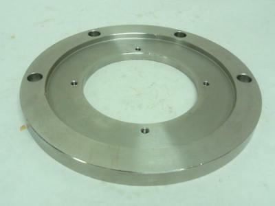 163573 Old-Stock, MetalQuimia 018493TGS8 Encoder Support Ring, SS, 100mm ID