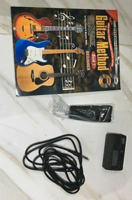 Legacy Electric Guitar - Black. Amplified, tuner, book incl.
