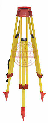Leica Style Fiberglass Tripod,For Total Station,Laser Level,Topcon,Trimble