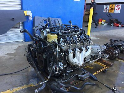 Holden V8 Ls1 Engine  - Full V8 Conversion With Auto