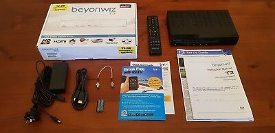 BEYONWIZ T2 1.0TB Digital Triple Tuner PVR Media Player Record HD TV Stream FREE