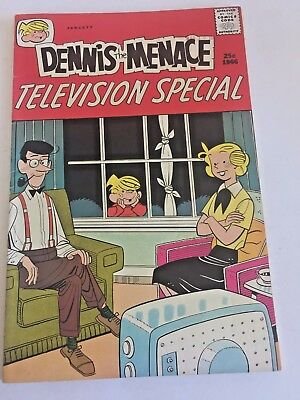 Dennis the Menace #37  Halden/Fawcett Comics 1966 Television Special High Grade!