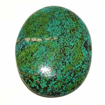100% NATURAL DESIGNER TIBET TURQUOISE OVAL CABOCHON UNTREATED GEMSTONE 204.00Cts