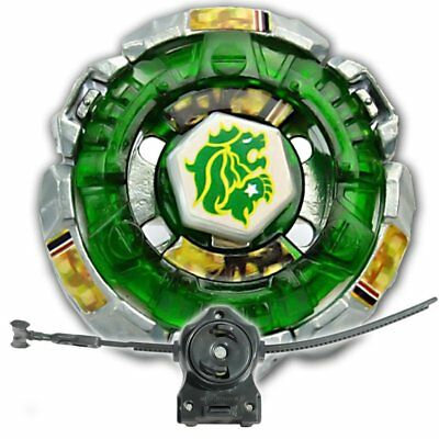 Fang Leone 130W2D BB-106 Metal Fury 4D Beyblade Starter Set w Launcher & Ripcord