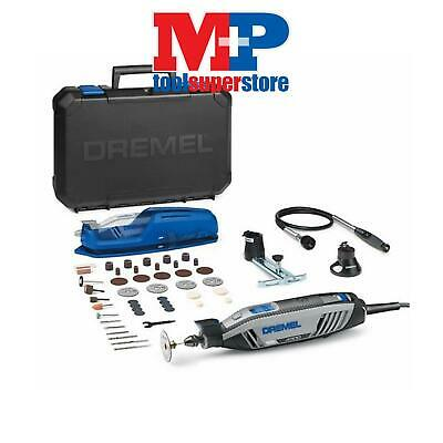 Dremel 4300-3/45 Rotary Multi Tool With 45 Accessories + 3 Attachments