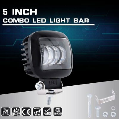 """5""""INCH 72W LED Work Light Bar Spot Flood Combo Pods Driving Off-Road Tractor 4WD"""