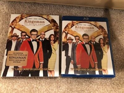 Kingsman The Golden Circle Bluray 1 Disc Set ( No Digital HD) Ship Now