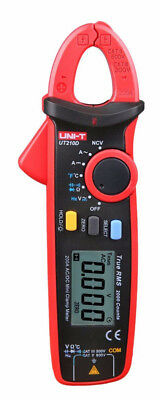UNI-T UT210D Digital Clamp Meter # AC/DC Current Voltage Multimeter Temp Tester