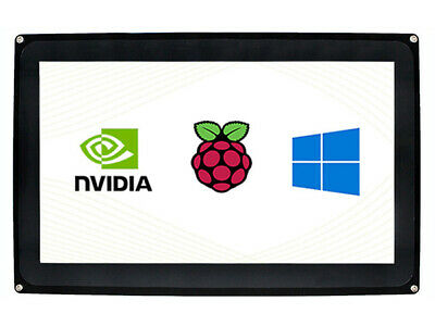 10.1'' HDMI LCD (H) (with case) 1024x600 Capacitive Touch Screen for RaspberryPi
