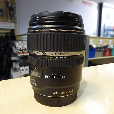 Used Canon EF-S 17-85mm f4-5.6 IS USM lens - 1 YEAR GTEE