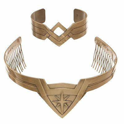 Wonder Woman Tiara and Cuff Set