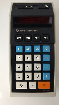 Texas TI-2550 VINTAGE CALCULATOR very nice condition