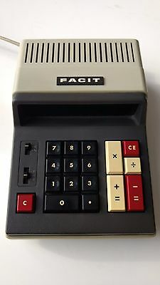 FACIT Japan 1114 Vintage Electronic Calculator