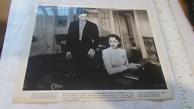Photograph Ray Milland And Jane Wyman  The Lost Weekend 1945