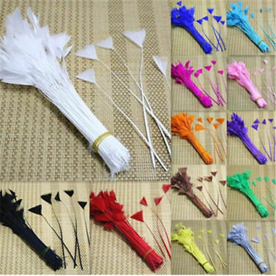 Wholesale 10-1000PCS Beautiful Goose Feathers Flower 10-15cm/4-6inches