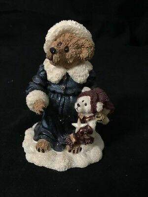 Boyds Bears Christmas Figurine 2000 The BearStone Collection
