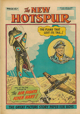 NEW HOTSPUR COMIC No. 120-135 from 1962