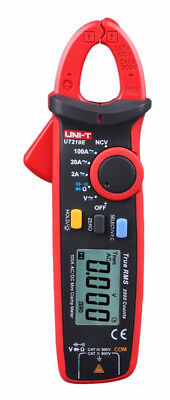 UNI-T UT210E Digital Clamp Meter Multimeter Handheld RMS AC/DC Mini # Resistanc