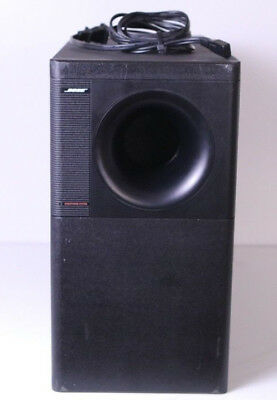 Bose Acoustimass 9 Subwoofer (Black) For Lifestyle 12 Model 5 9 Pin Connection