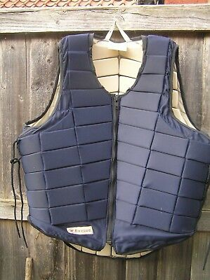 Racesafe body protector, RS2000, adult large in Navy